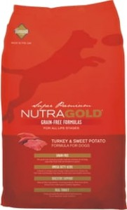 Nutra Gold Grain Free Turkey & Sweet Potato 2,25 kg