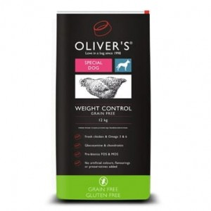 Olivers Weight Control Grain Free M 4 kg