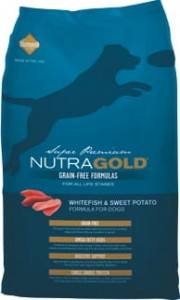Nutra Gold Grain Free Whitefish & Sweet Potato 2,25 kg