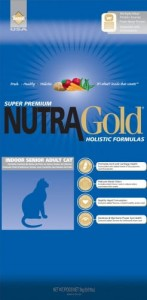 Nutra Gold Holistic Senior Cat 1 kg