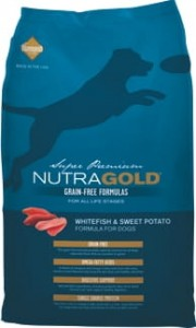 Nutra Gold Grain Free Whitefish & Sweet Potato 6x2,25 kg
