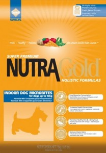 Nutra Gold Holistic Indoor Adult Dog Microbites 3 kg