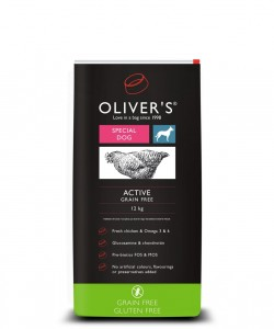 Olivers Active Grain Free 12 kg
