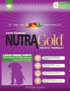 Nutra Gold Holistic Large Breed Puppy 15 kg