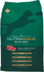Nutra Gold Grain Free Duck & Sweet Potato 2,25 kg