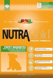 Nutra Gold Holistic Puppy Microbites 3 kg